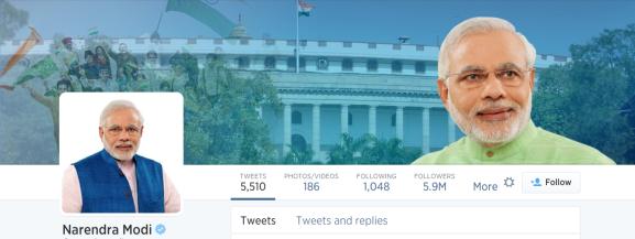 Narendramodi twitter